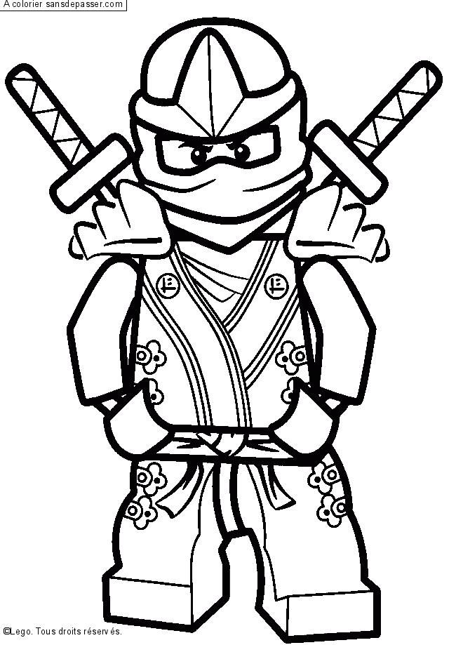 Coloriage Lloyd Ninjago Vert Sans Depasser Coloriage Ninjago Coloriage Lego Coloriage Ninja