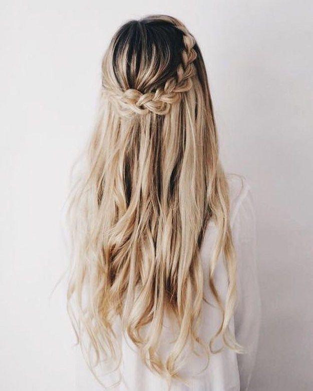 Dutch crown braids