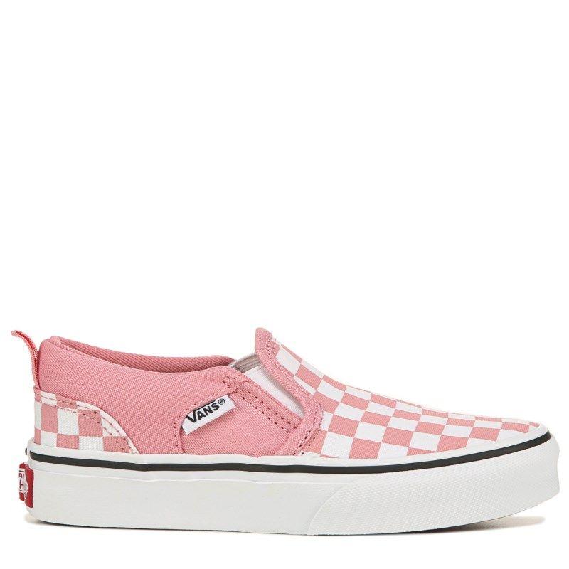 Vans Kids' Asher Slip On Sneaker Pre