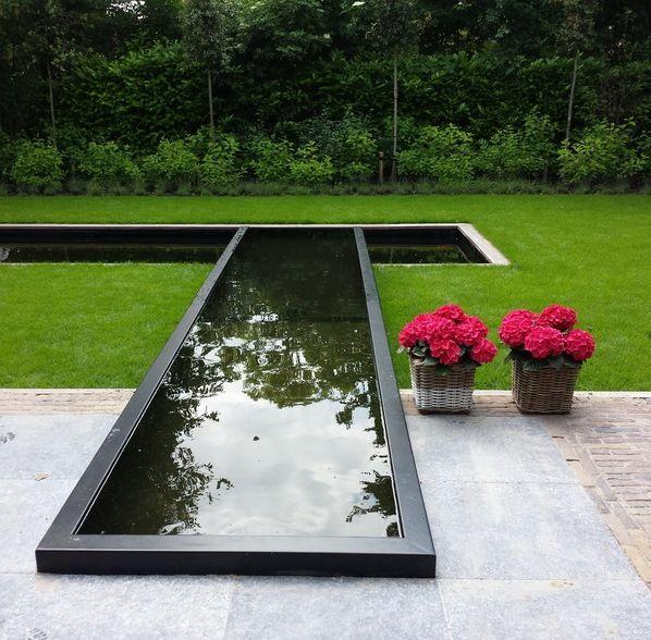 Adezz garden water feature aluminium pond nuovo giardino pinterest garten teich e garten - Wasserteich im garten ...