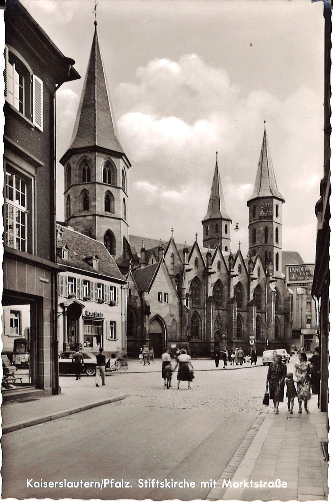 Lautern Frueher De Lautern Pfalz Kaiserslautern