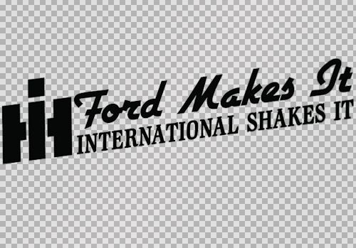 Ford Makes It International Shakes It Sticker Super Duty Psd Diesel Decal Ebay Shop Http Stores Ebay Com Leyintzonline Webs Ford How To Make Car Stickers