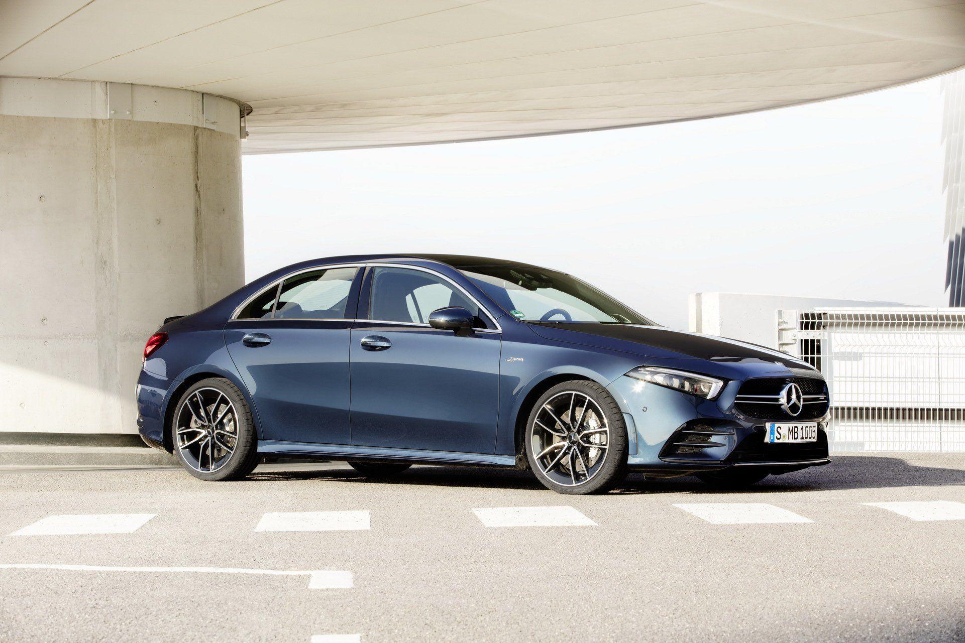2020 Mercedes Amg A 35 Junior Performance Sedan Has 302 Hp Does 0
