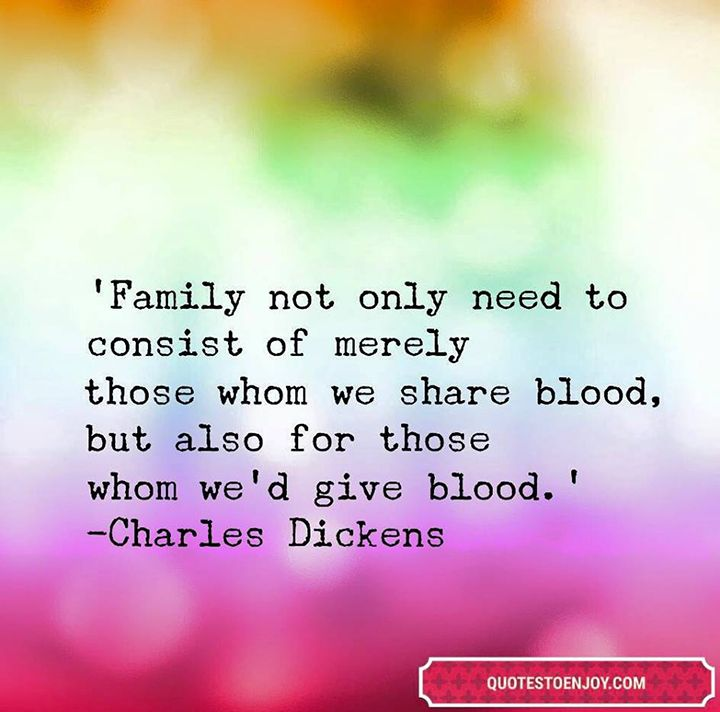 Family Not Only Need To Consist Of Merely Those Whom Charles