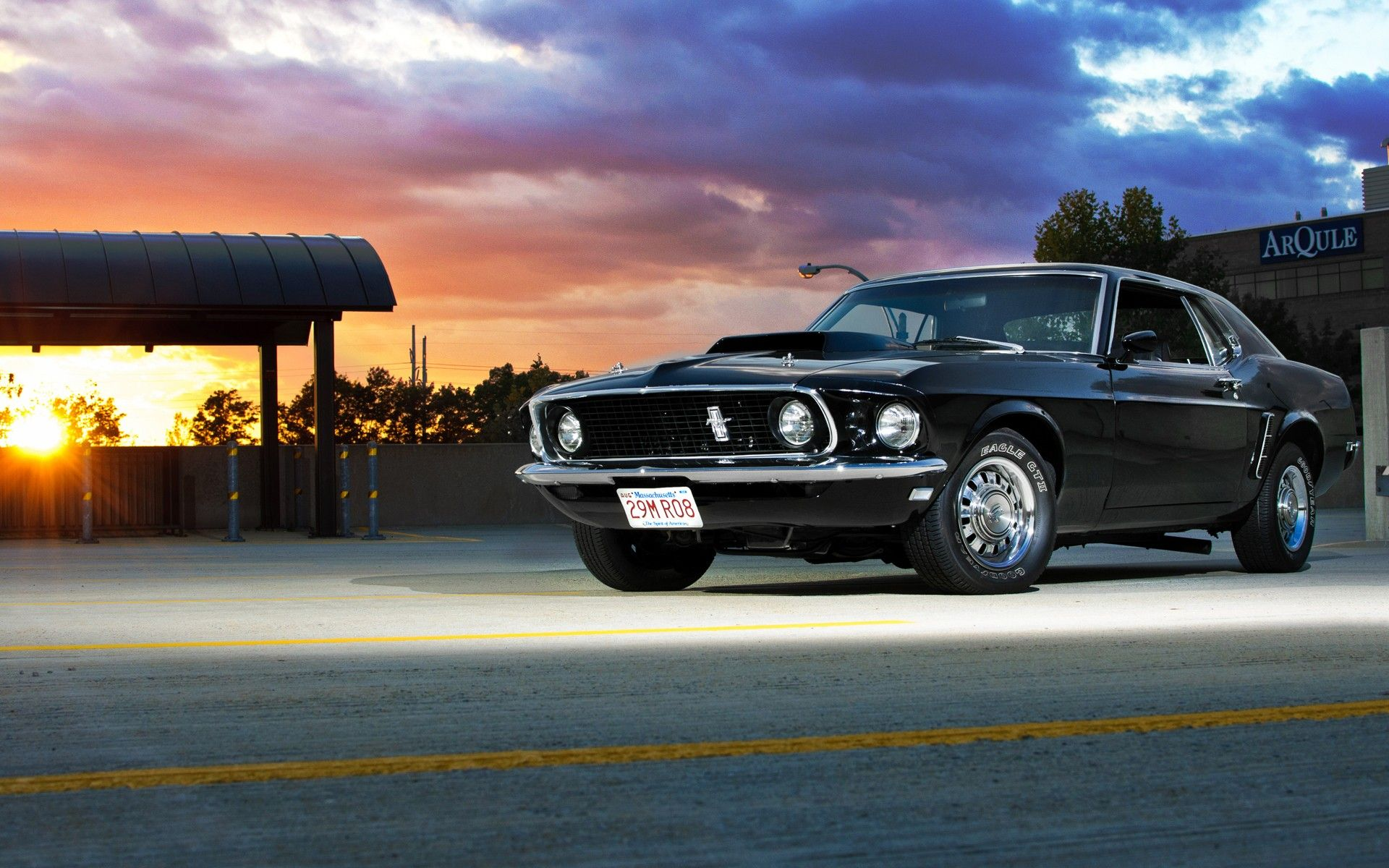 Cool Muscle Car Hd Wallpapers With Images Ford Mustang