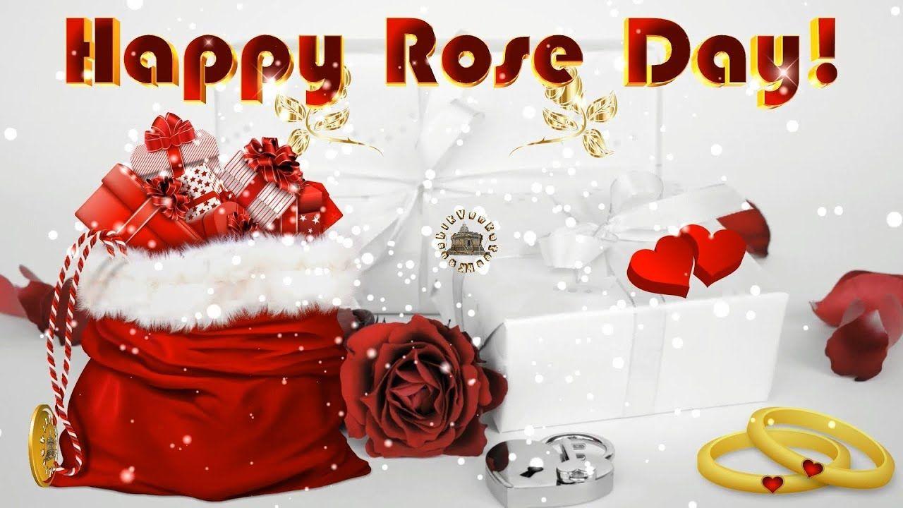 Happy Rose Day 2018wisheswhatsapp Videogreetingsanimation