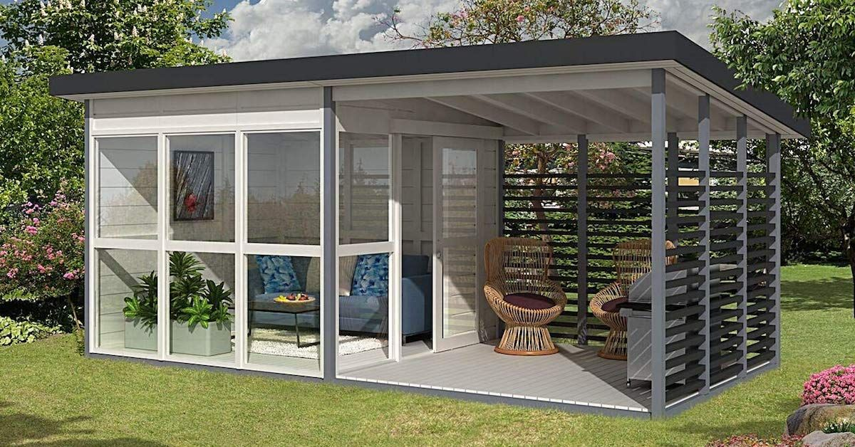 Amazon Is Selling A Diy Guest House Kit You Can Build In 400 x 300
