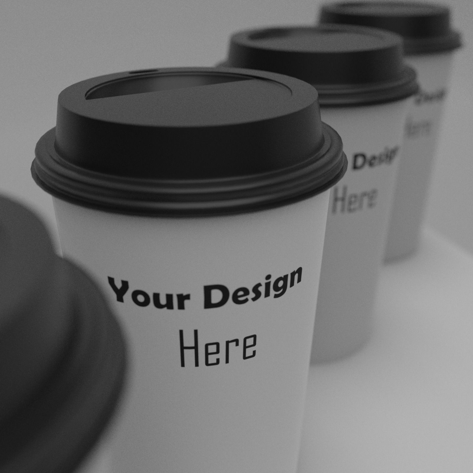 Just my newest prototype mockups. This coffe Cup mockup