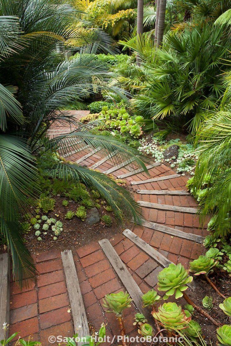 Allee De Jardin En Pente 25 stunning garden paths | jardins, beaux jardins et jardin