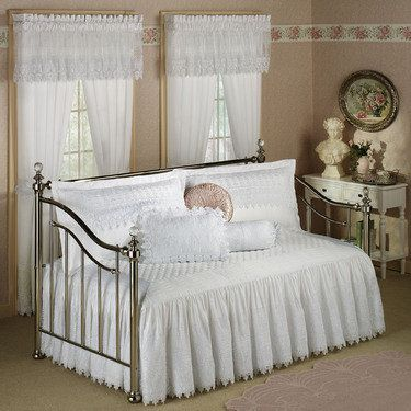 Fabulous Trousseau Lace Daybed Bedding A Shabby Chic Home In Interior Design Ideas Philsoteloinfo
