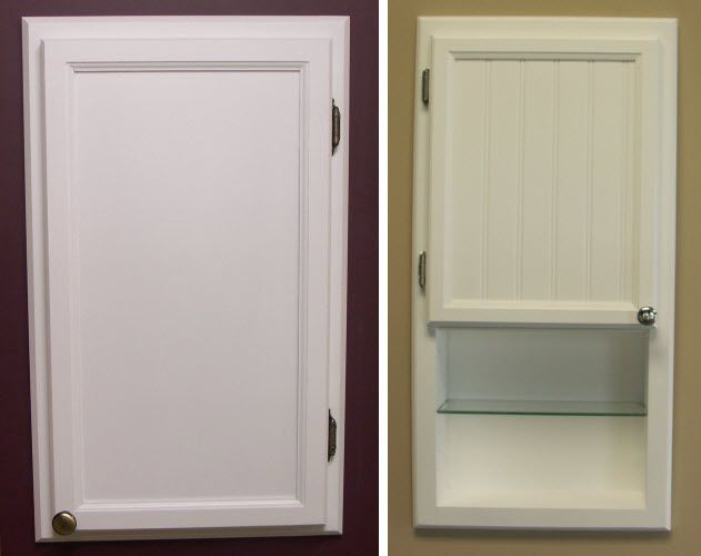 Recessed Medicine Cabinets Without Mirror Choozone With Images