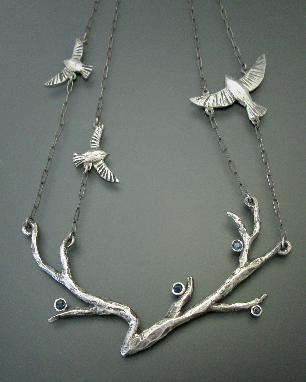 """Maggie Bokor, """"Take Flight"""" Metal art, Jewelry, Silver"""