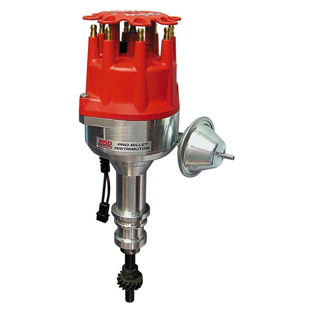 Ad Ebay Msd Ignition 84791 Street Pro Billet Distributor Ignition System Ignite Msd