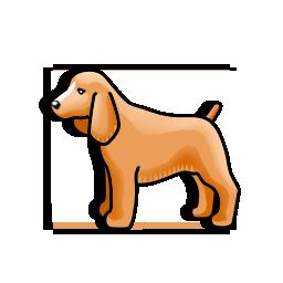 Dog Icons Iconshock Dog Icon Spaniel Dog Animal Icon