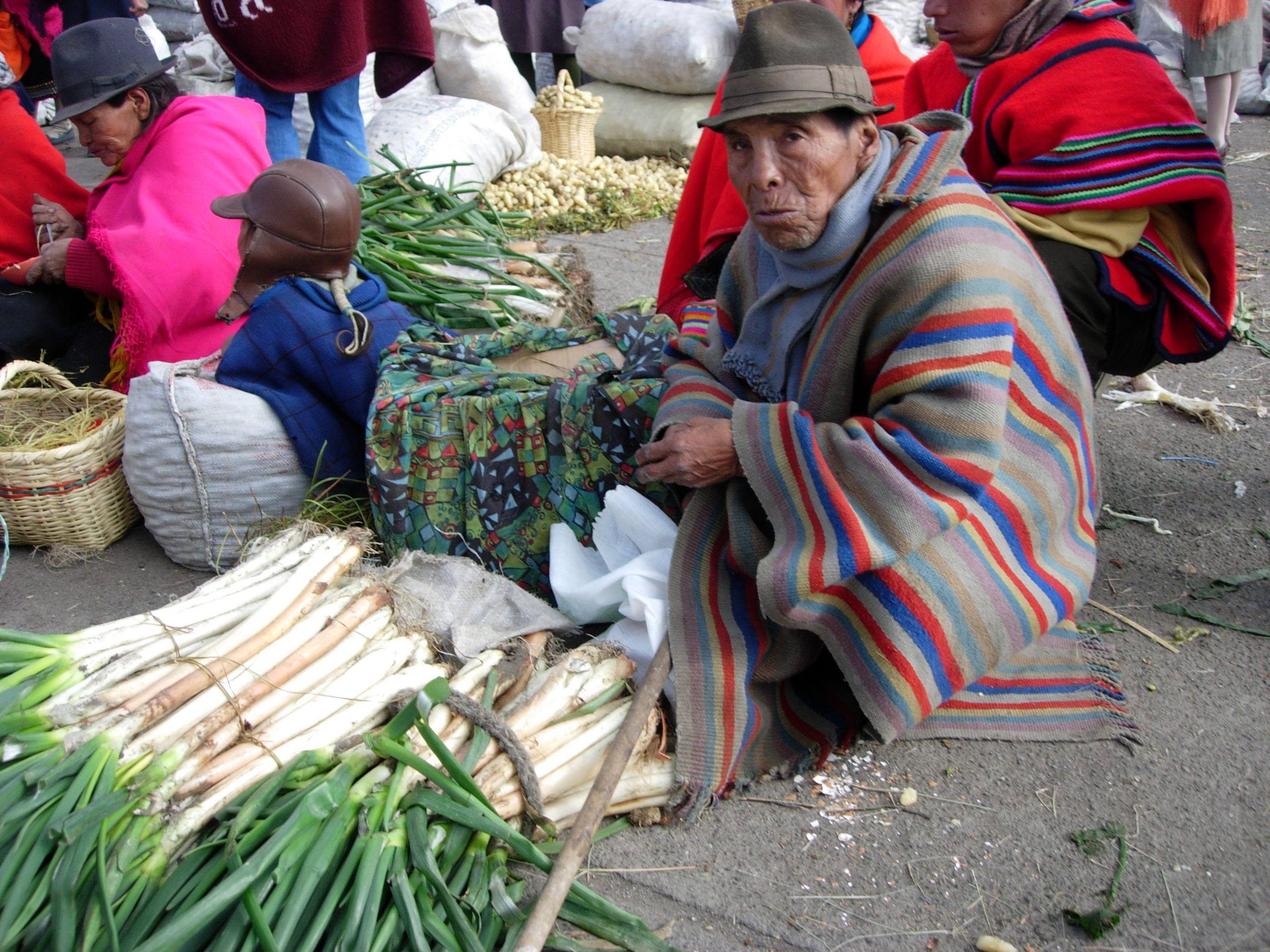 Old guy, Ecuador