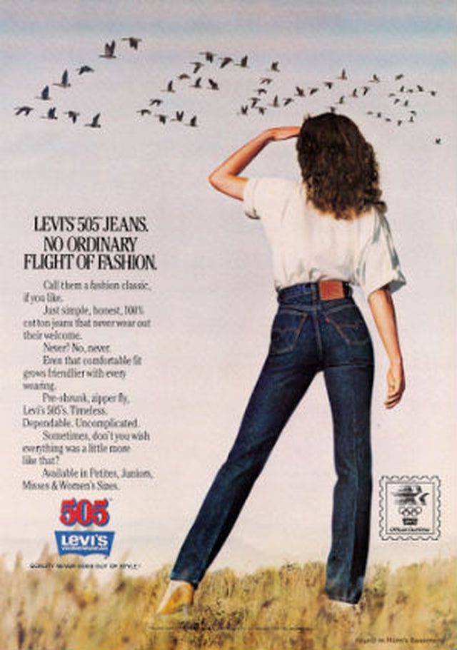These Vintage Jeans Ads Will Make You Crave Retro Denim Styles ...