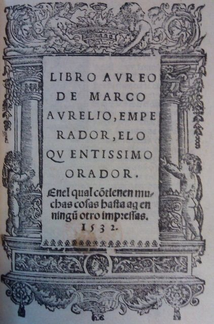 Libro Aureo 1532