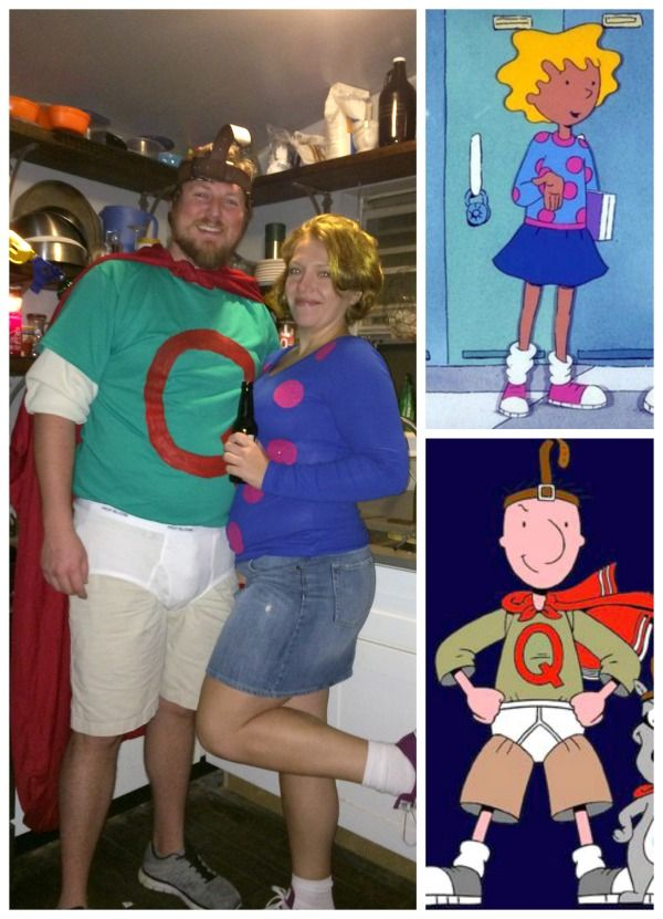 Quail Man and Patty Mayonnaise couples costume so fun! Best of - halloween costume ideas for men diy