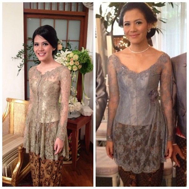 "168 Likes, 9 Comments - Merras (@merrasofficial) on Instagram: ""#merras #kebaya #lace"""