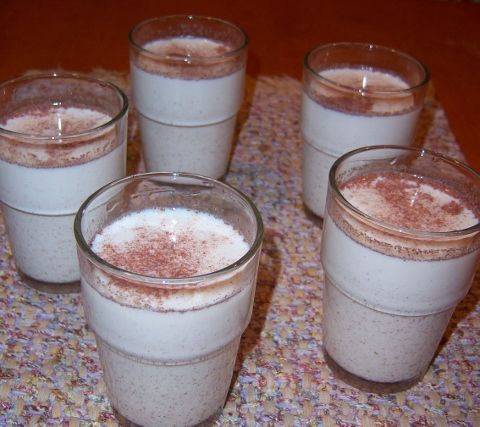 Milk Nog!!!!!  I have searched far and wide for a recipe for Milk Nog and I finally found one!  I will be drinking so much of this this winter!