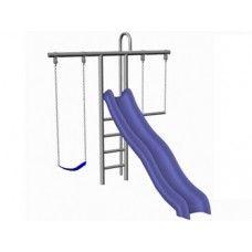 1 139 00 Starter Swingset St30 The St30 Metal Swing Set Is A T
