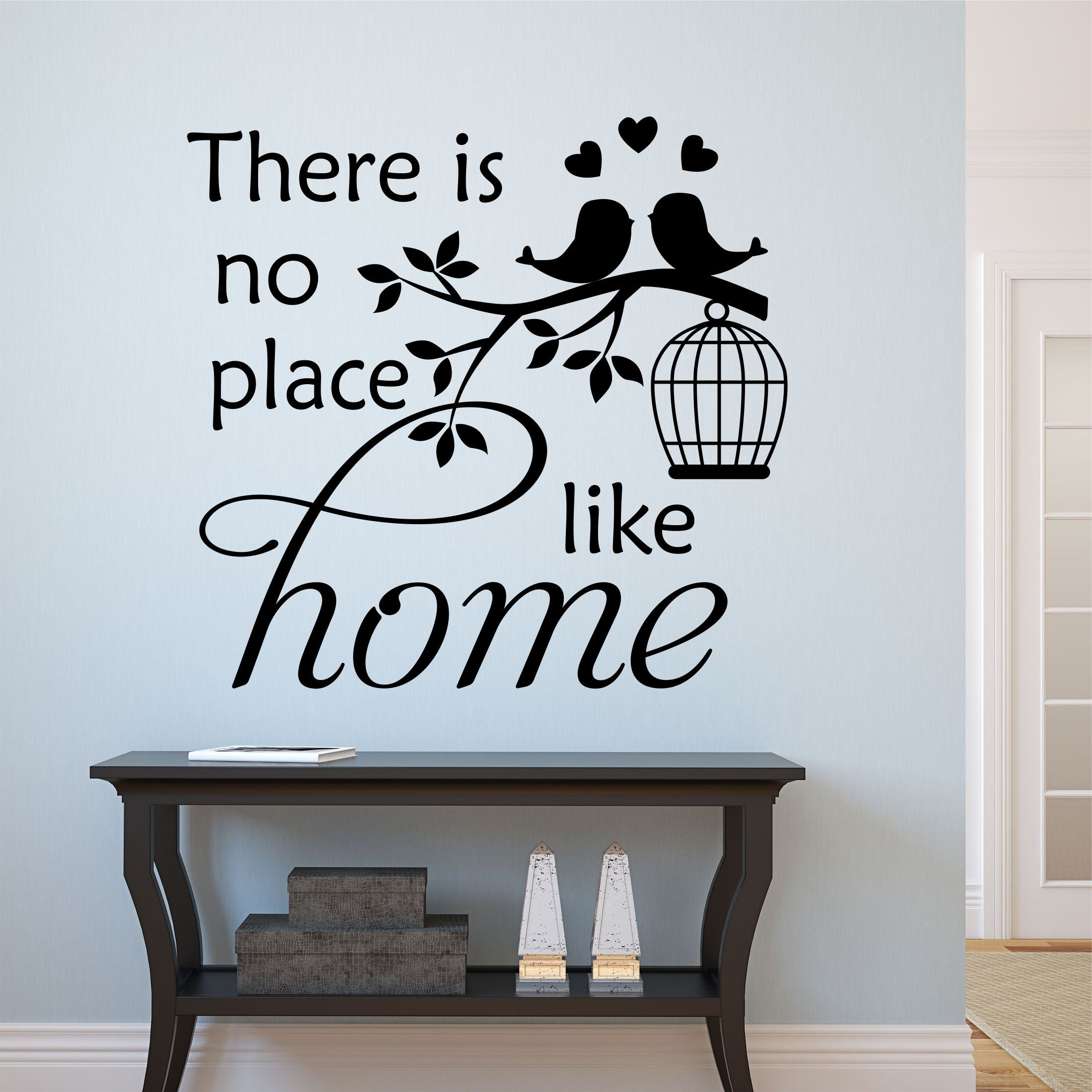 Family Wall Decal No Place Like Home