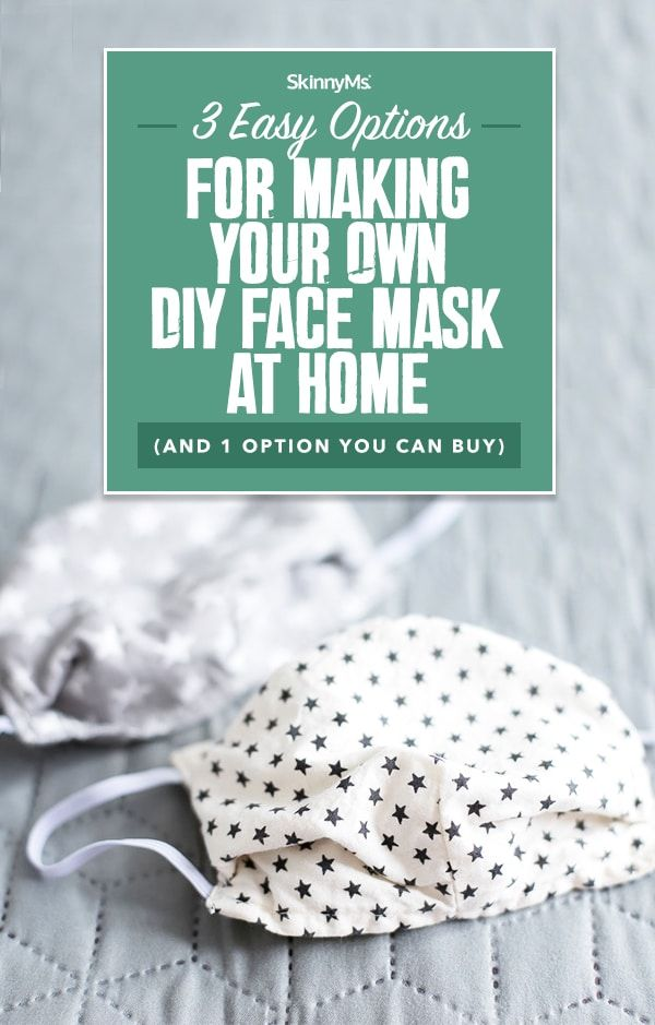 Photo of 3 Easy Options For Making Your Own DIY Face Mask At Home