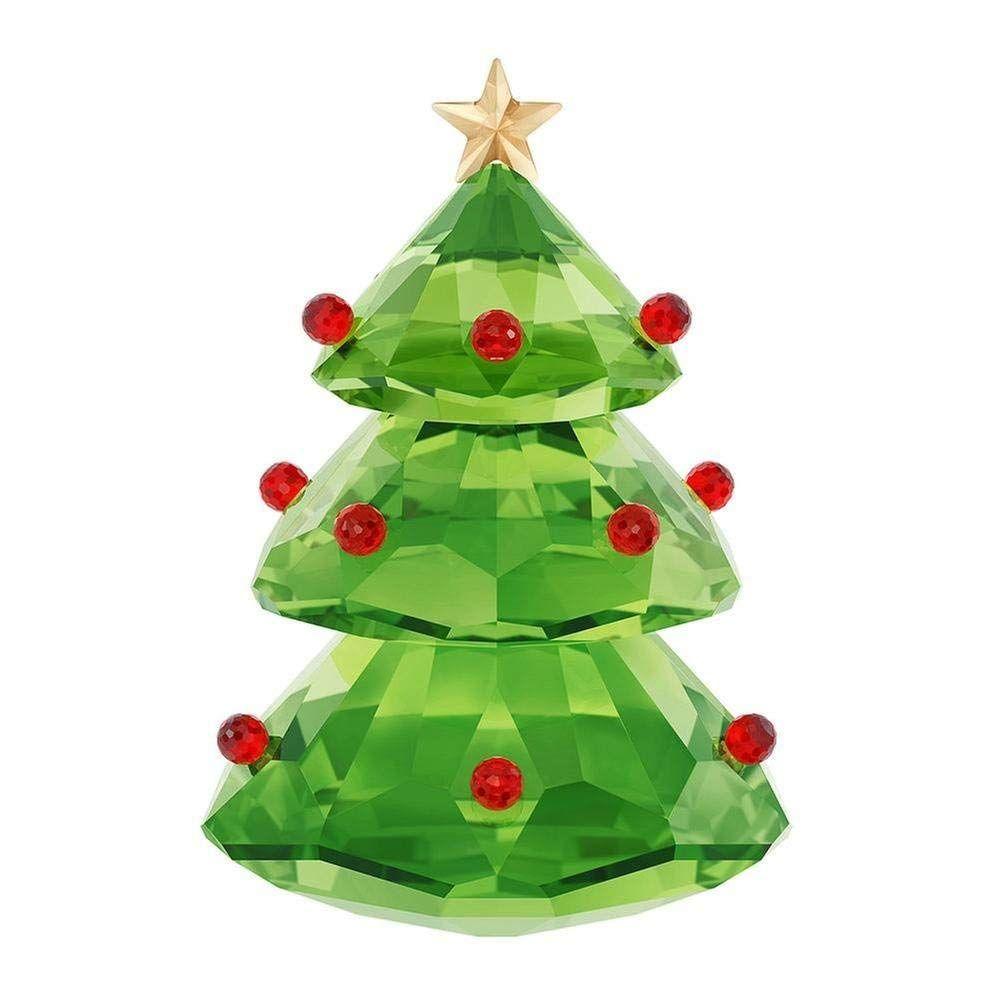 a570c136bd947 Swarovski Christmas Tree Holiday Figurine, Green * Check this ...