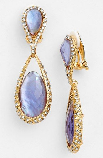 Alexis Bittar Elements Maldivian Drop Clip Earrings Available At Nordstrom