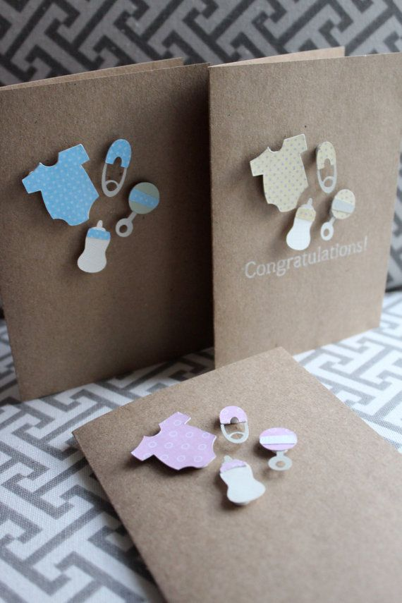 Wonderful Card Making Ideas Baby Shower Part - 8: Items Similar To Baby Shower Card, New Baby Card, Baby Congratulations, Baby  Thank You Cards, Baby Shower Invitations On Etsy