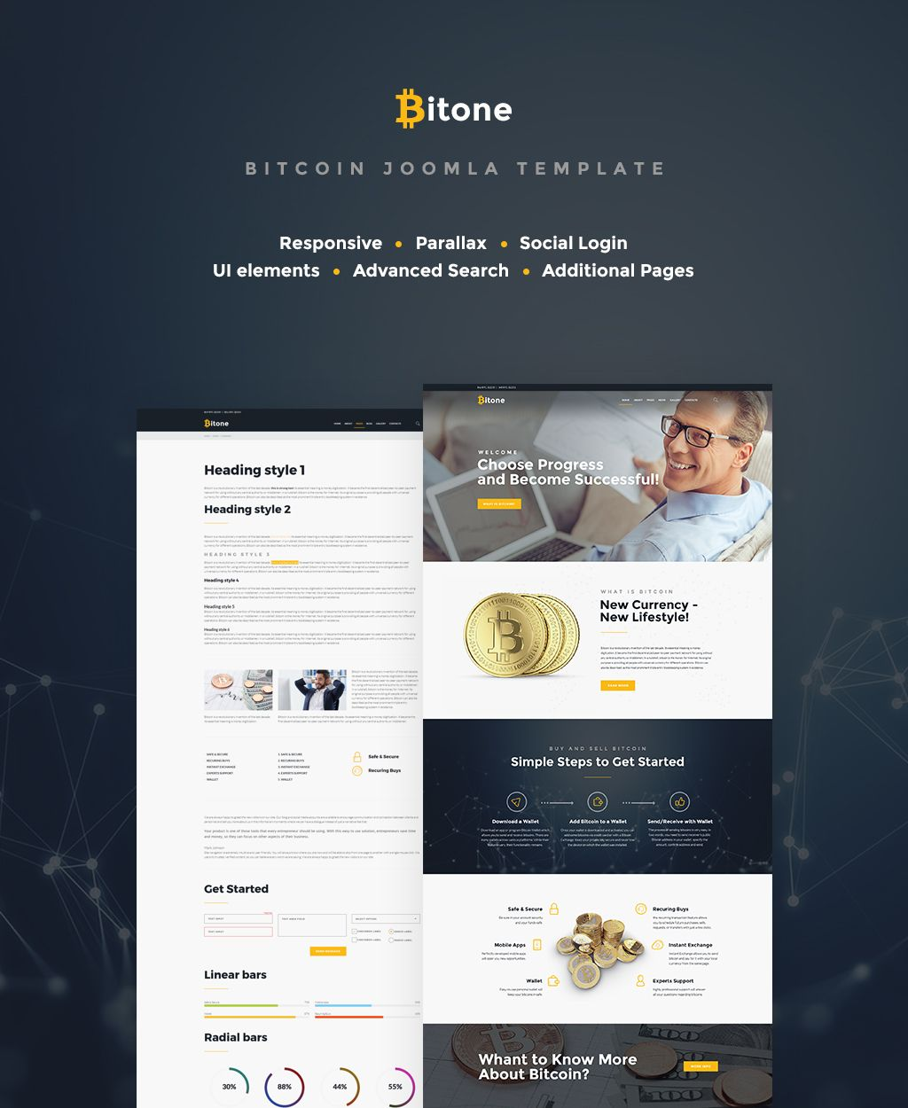 Want to increase the popularity of your cryptocurrency investing website? We have a solution for you! Check out new Bitcoin Cryptocurrency Website Template! #bitcoininvestingwebsite #bitcoinwebsitedesign #joomlatemplatecryptocurrency #cryptocurrencywebsitetemplate https://www.templatemonster.com/joomla-templates/bitone-bitcoin-cryptocurrency-joomla-template-65414.html/