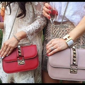 f8e1757030 valentino lock bag - Med & Small | My fashion story...... | Studded ...
