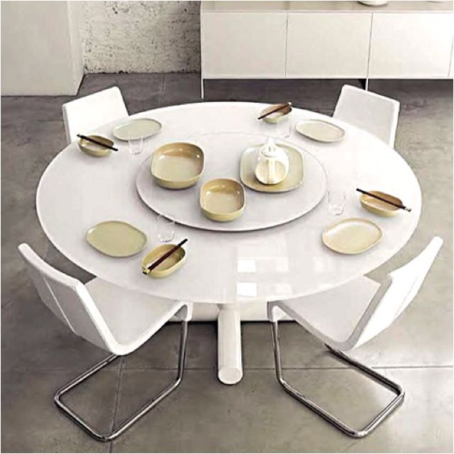 Bonaldo Surfer Modern Round Dining Table with The Lady Susan http ...