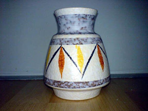 Vase BAY 518-14 H: 14,5 cm WGP Floral Glaze 518 Shape *    eBay