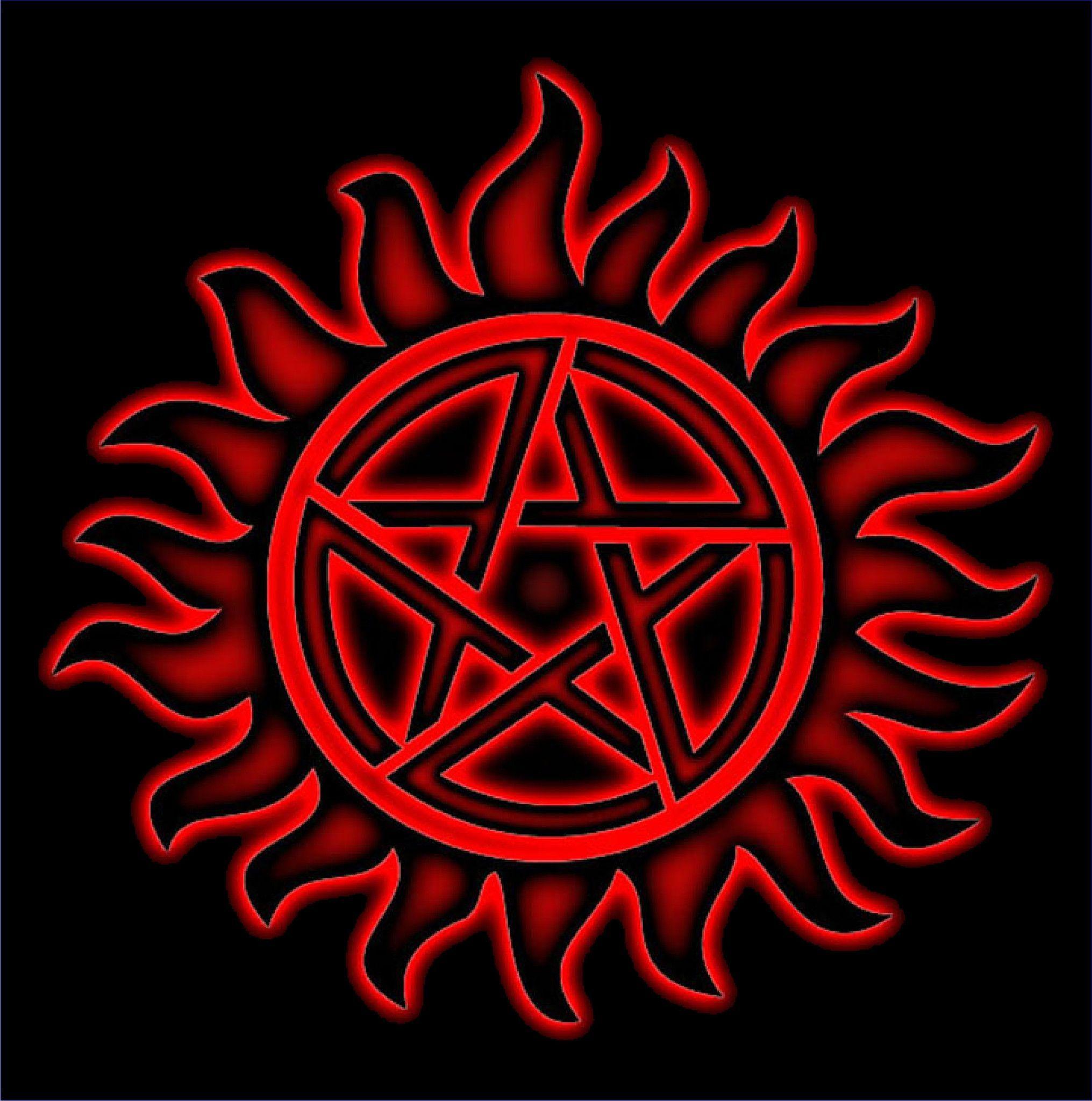 Supernatural AntiPossession Symbol Supernatural tattoo