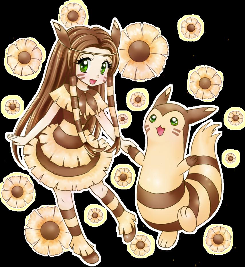 Furret By Chikorita85 On Deviantart Pokemon Manga Pokemon Gijinka Cute Pokemon