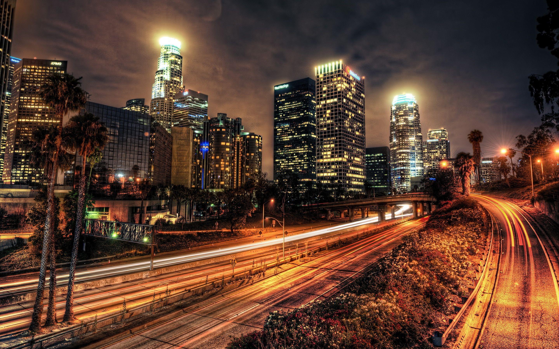 Los Angeles Los Angeles Wallpaper Los Angeles At Night City Wallpaper