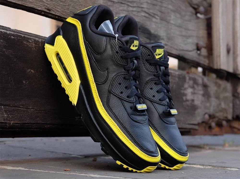 Undefeated Nike Air Max 90 White Yellow CJ7197 101 | Nike