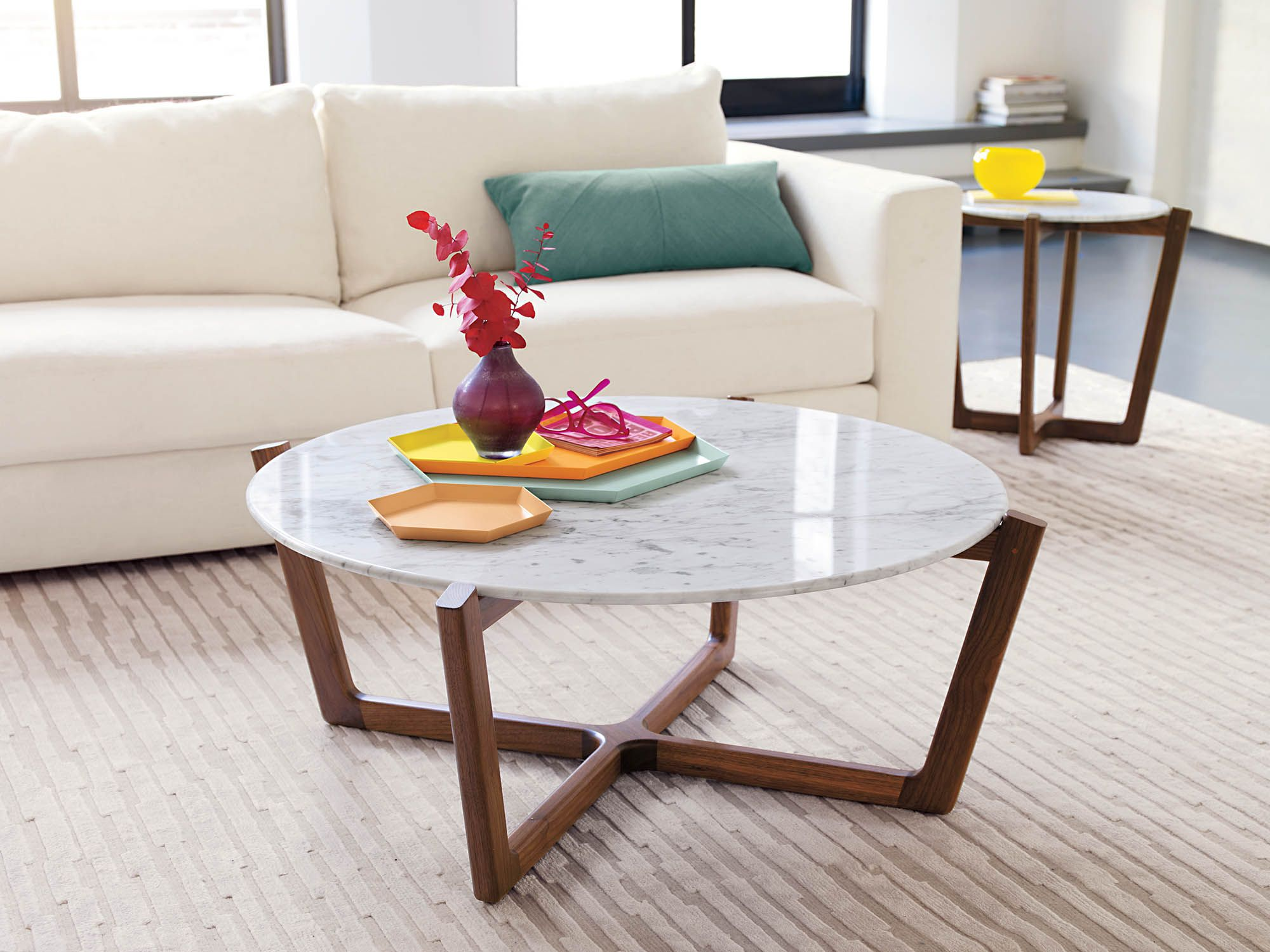 Atlas Coffee Table Designed By Brad Ascalon Home Furnishings  # Atlas Buffet Laque Blanc