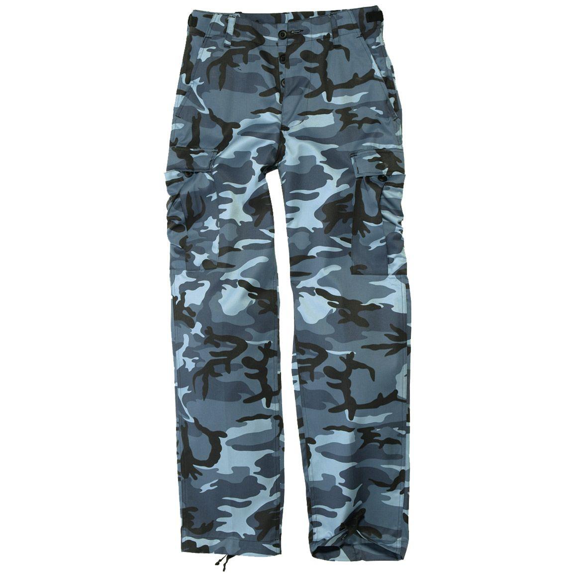 Mil-Tec BDU Ranger Combat Trousers Skyblue   BDU   Military 1st