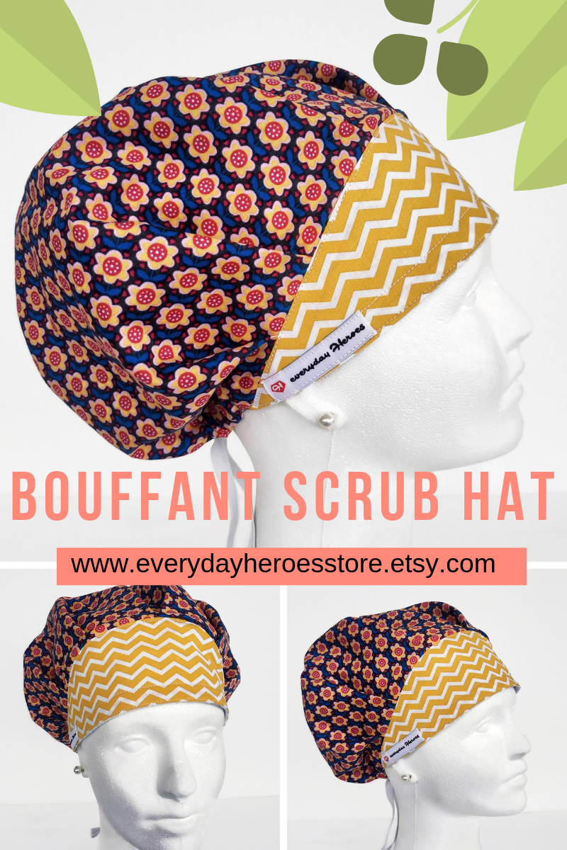 Looking For A Surgical Scrub Cap Bouffant For Your Nurse Bestie