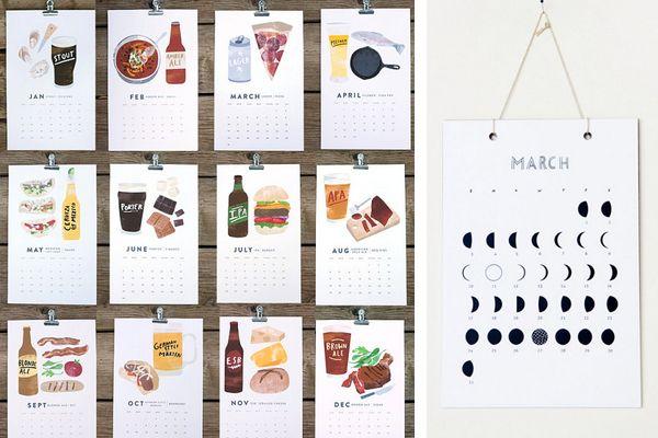 Calendar Illustration Ideas : Calendar cards design pinterest