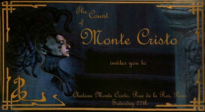 invitations that are as elegant as the Count of Monte Cristos