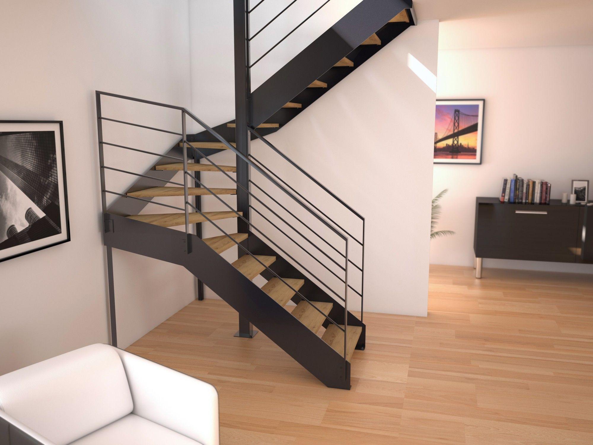 Escalier double limons pas cher en haute loire escalier z2 double limons lat raux - Escalier colimacon pas cher ...