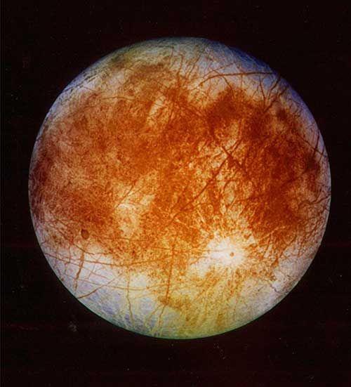 Jupiter S Moon Europa Astrónomos Europa Planetas