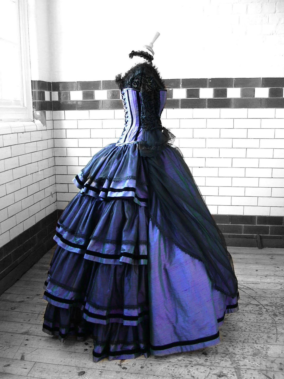 Something Steampunk Dress Steampunk Prom Dress Steampunk Wedding Dress [ 1600 x 1200 Pixel ]