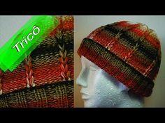 (38) DIY - Tricô - Gorro Mesclado (Passo a Passo) Mari Trentini - YouTube 6c265d35d00