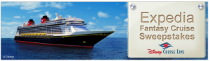 Expedia – Fantasy Cruise Sweepstakes - Simple entry - just send an email, click link for more details