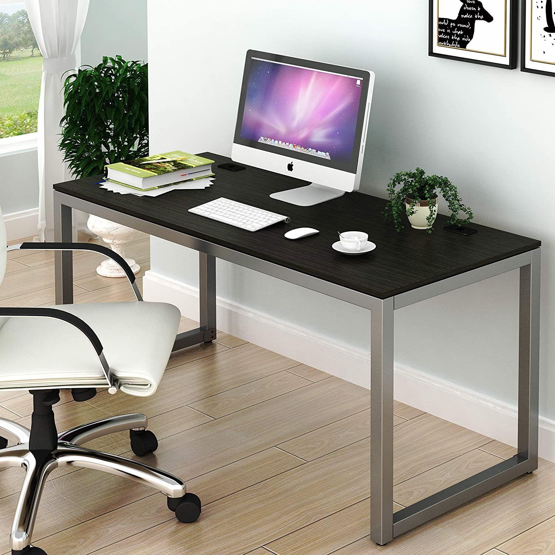 Espresso Home Office Large Computer Desk In 2021 Best Home Office Desk Large Computer Desk Home Office Computer Desk