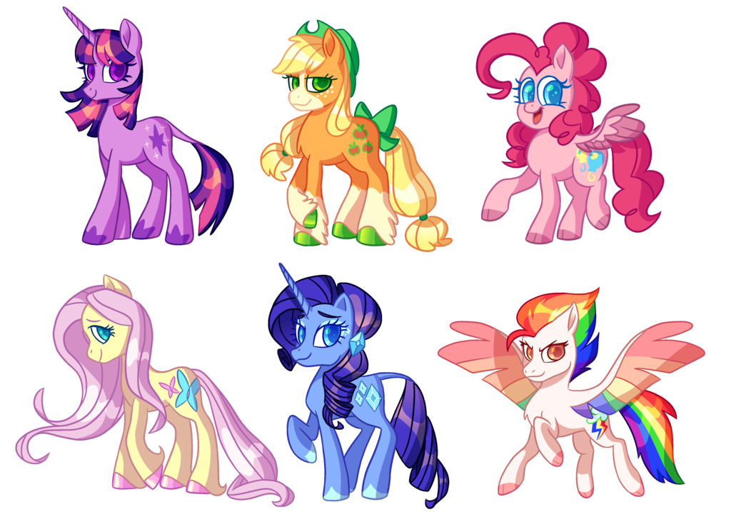 I saw the MLP G5 concept art leaks and    Boy, are they bad